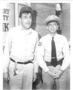 T25J ANDY GRIFFITH photo GOMER & BARNEY